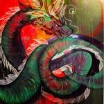 """""""Dragon"""" - Jamila Hamaïda"""