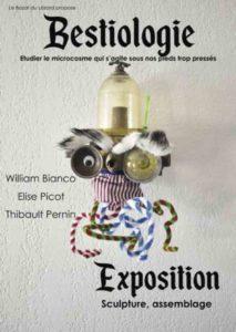 "Exposition ""Bestiologie"" @ Le Bazar du Lézard"